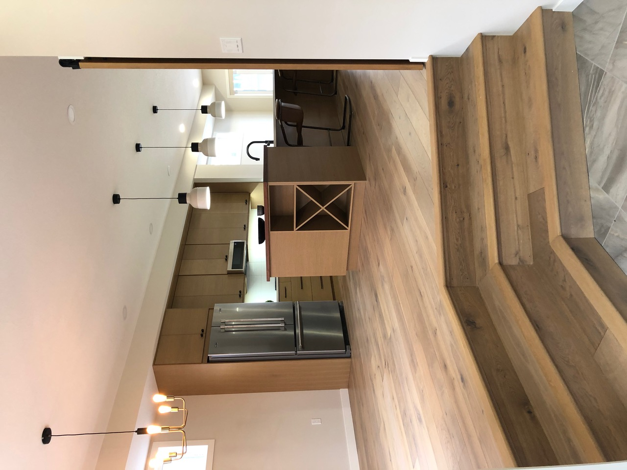 View of kitchen wooden flooring